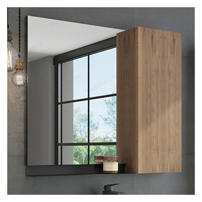 Зеркальный шкаф Comforty Кёльн 88 дуб темный (00004147987) зеркальный шкаф comforty кёльн 88 дуб темный 00004147987