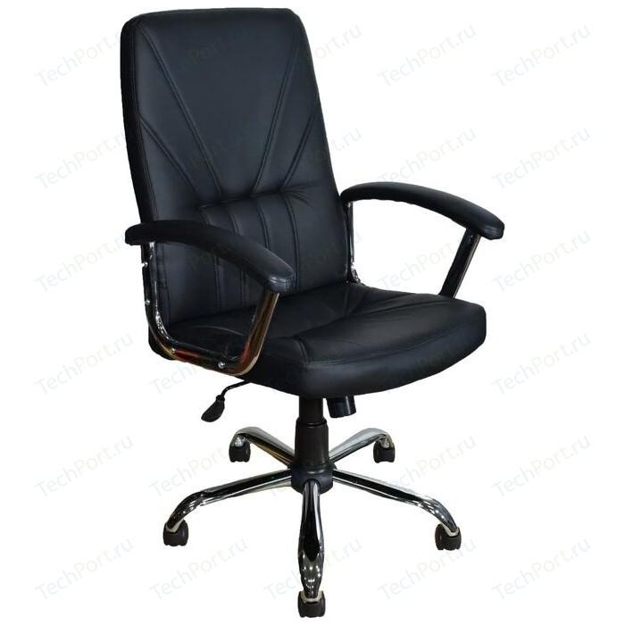 Фото - Кресло Стимул-групп СТИ-Кр37 ТГ хром эко 1 экокожа черная кресло стимул групп сти кр26 тг пласт эко3