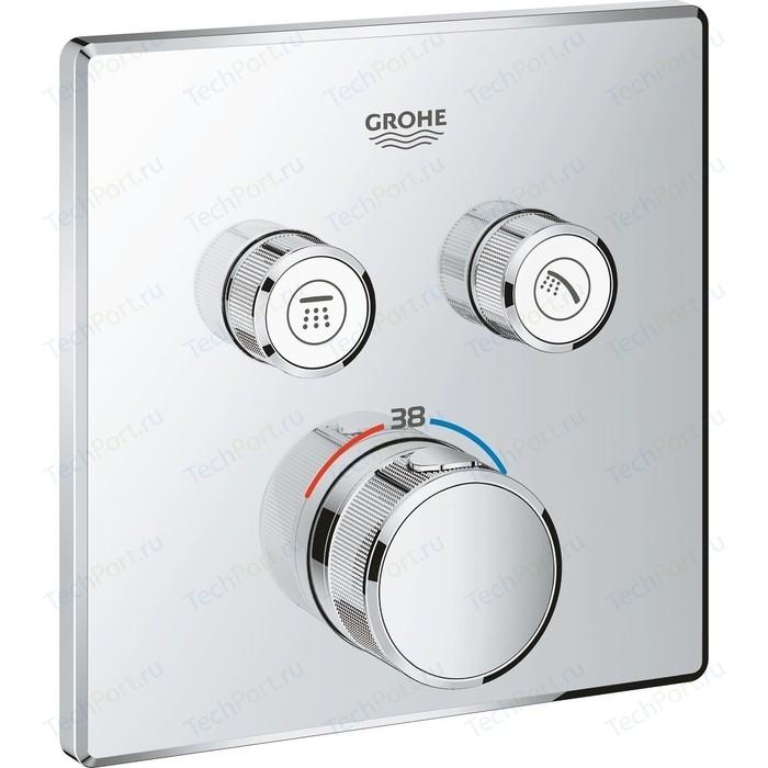 Термостат для ванны Grohe Grohtherm SmartControl встраиваемый, на два выхода (29124000, 35600000)