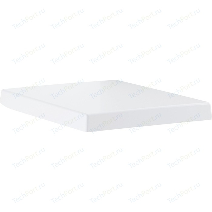 Сиденье для унитаза Grohe Cube Ceramic с микролифтом, альпин-белый (39488000)
