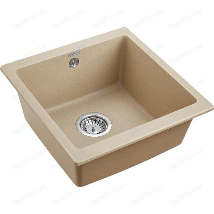 Кухонная мойка Paulmark Brilon кварц (PM104546-QU)