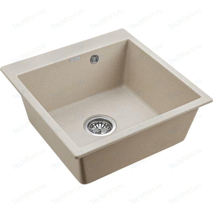 Кухонная мойка Paulmark Praktisch бежевый (PM105152-BE)