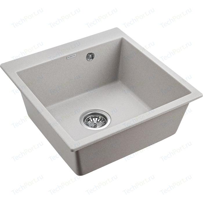 Кухонная мойка Paulmark Praktisch серый (PM105152-GR)