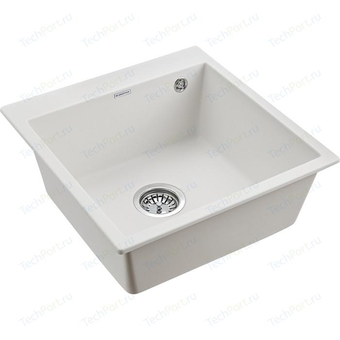 Кухонная мойка Paulmark Praktisch белый (PM105152-WH)