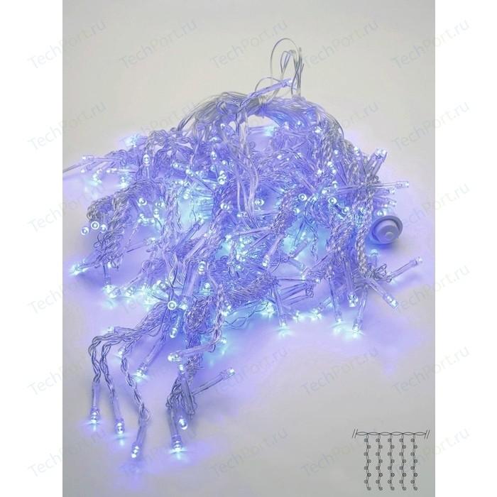 Светодиодная бахрома Feron 230V синяя без мерцания CL23 32350
