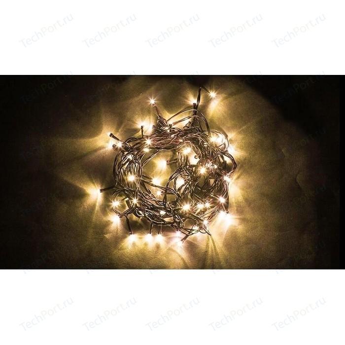 Светодиодная гирлянда Feron Линейная 230V 3300K теплый белый с мерцанием CL06 26779 feron лампа люминесцентная feron линейная черная g5 6w 03714