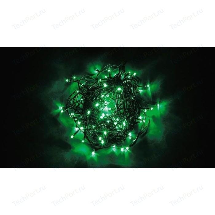 Светодиодная гирлянда Feron Линейная 230V зеленая с мерцанием CL06 32311 feron лампа люминесцентная feron линейная черная g5 6w 03714