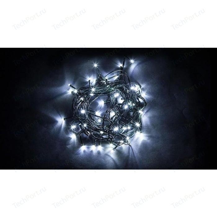 Светодиодная гирлянда Feron Линейная 230V 5000K холодный белый с мерцанием CL07 32317 feron лампа люминесцентная feron линейная черная g5 6w 03714