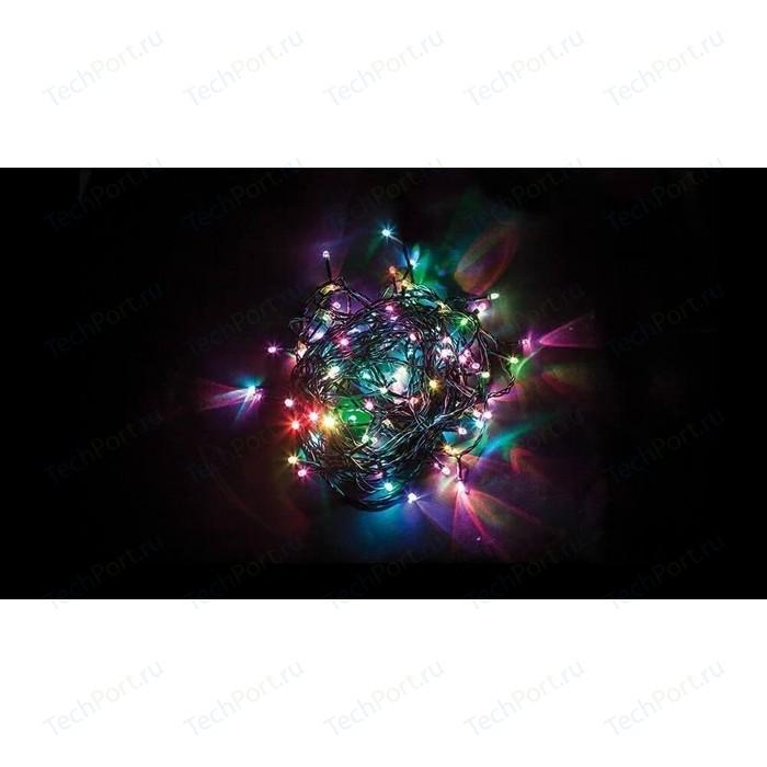 Светодиодная гирлянда Feron Линейная 230V разноцветная без мерцания CL08 26784 светодиодная гирлянда feron линейная 230v 2700k теплый белый без мерцания cl08 26783