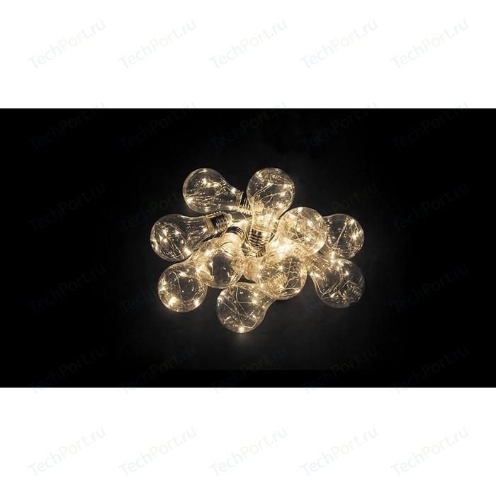 Светодиодная гирлянда Feron Фигурная AA 2700K теплый белый без мерцания CL580 32368 светодиодная гирлянда feron линейная 230v 2700k теплый белый без мерцания cl08 26783