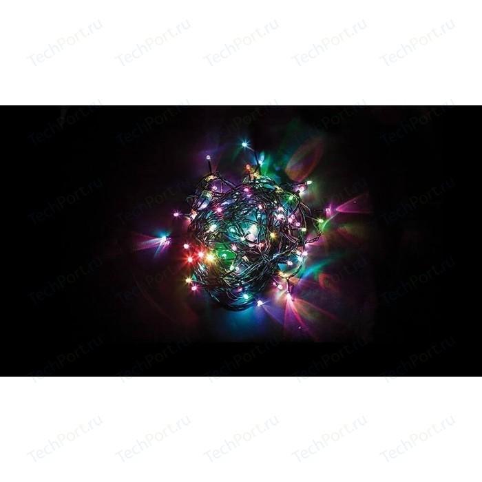 Светодиодная гирлянда Feron 7 веток 230V разноцветная с мерцанием CL90 32370