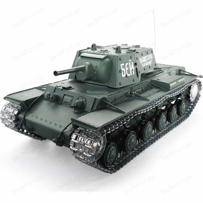 Радиоуправляемый танк Heng Long Russia КВ-1 масштаб 1:16 RTR 2.4G - 3878-1 V6.0