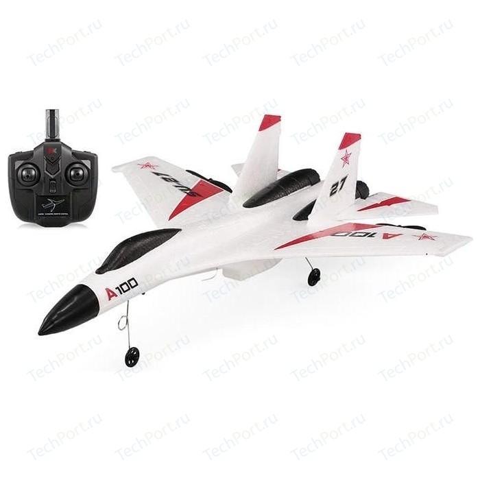 Радиоуправляемый самолет XK Innovation A100-SU27 RTF 2.4G - A100-SU27 радиоуправляемый самолет xk innovation x520 w rtf 2 4g x520 w