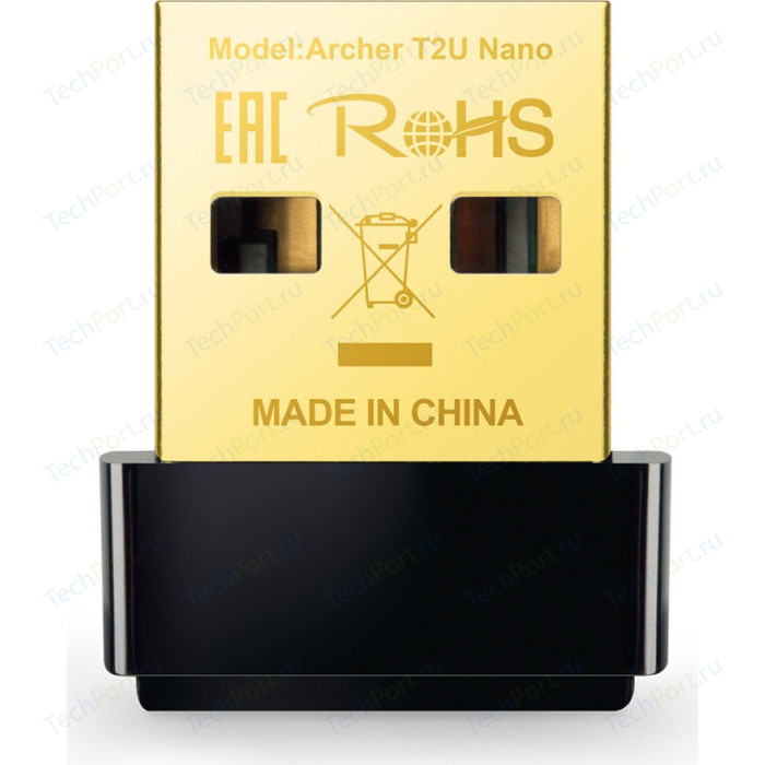 Wi-Fi адаптер TP-LINK ARCHER T2U NANO сетевой адаптер wifi tp link archer t2u plus usb 2 0