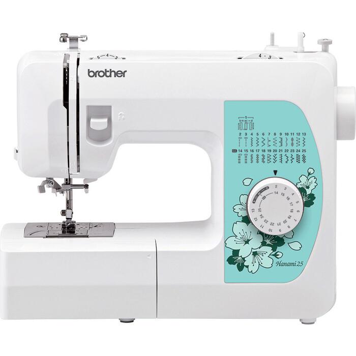 Фото - Швейная машина электромеханическая Brother Hanami 25 швейная машина brother hanami 17 бело розовый