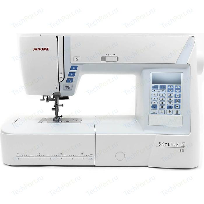 Швейная машина компьютеризированная Janome S3