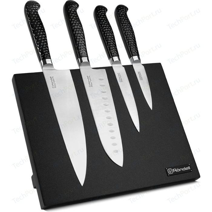 Набор ножей 5 предметов Rondell RainDrops RD-1131 набор ножей rondell kronel 4 предмета rd 459