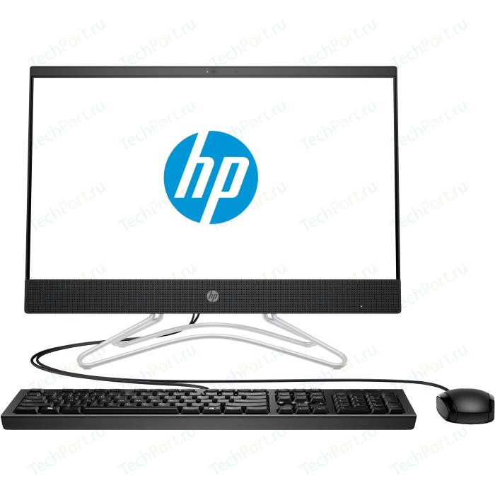 Моноблок HP 22-c0016ur black (Pen J5005/4Gb/500Gb/noDVD/MX110 2Gb/W10) (4GR72EA) hp 255 g6 [1wy47ea] black 15 6 hd e2 9000e 4gb 500gb dos