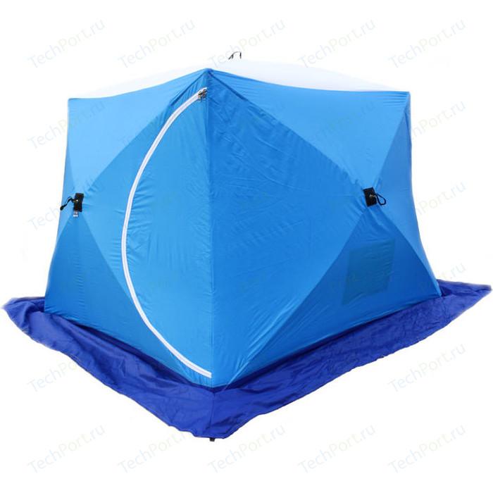 Палатка для зимней рыбалки Стэк Куб-2 Long трехслойная