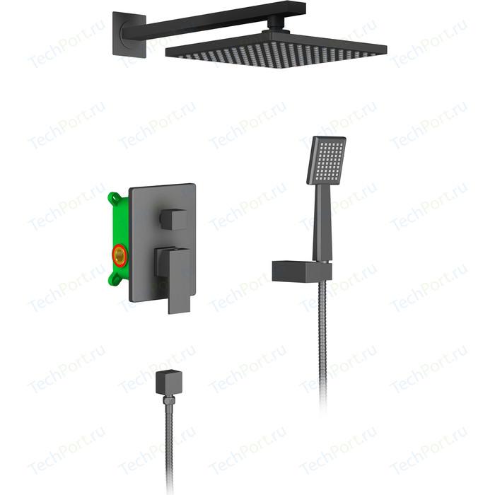 Душевая система Timo Selene черная (SX-2069/03SM) душевая система timo selene sx 2069 03sm