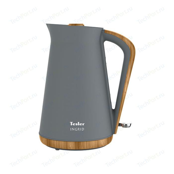 Фото - Чайник электрический Tesler KT-1740 Grey чайник tesler kt 1755 red