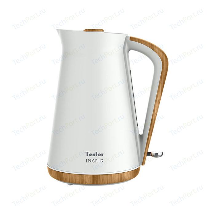 Фото - Чайник электрический Tesler KT-1740 White чайник tesler kt 1755 red