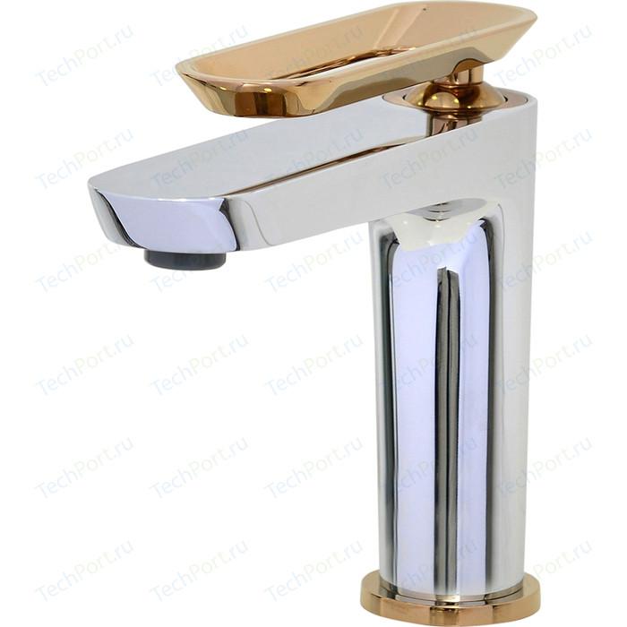 Фото - Смеситель для раковины Bien Hermes хром-розовое золото (BL11009402) смеситель для кухни bien hermes be11009408 хром розовое золото