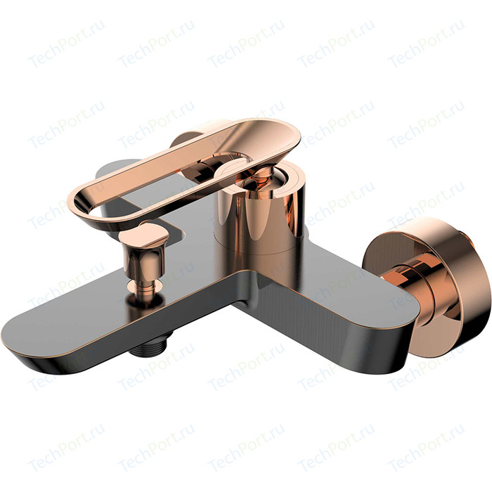 Фото - Смеситель для ванны Bien Hermes ORB розовое золото (BB01009404) смеситель для кухни bien hermes be11009408 хром розовое золото