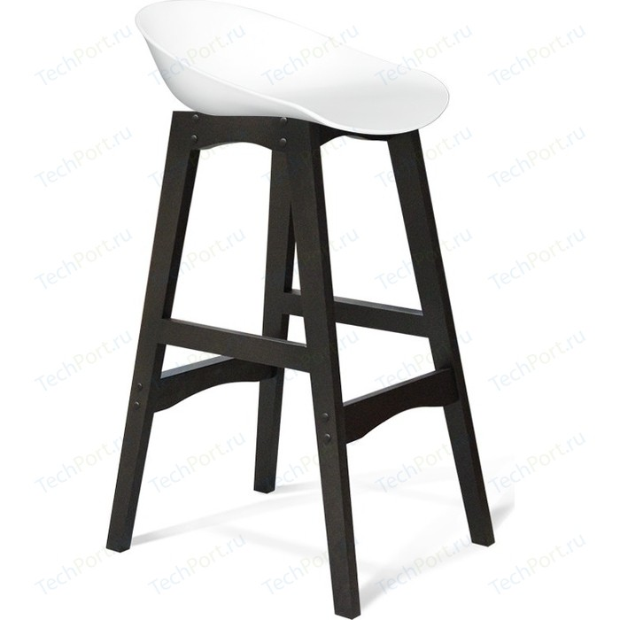 Барный стул Sheffilton SHT-ST19/S65 белый/венге