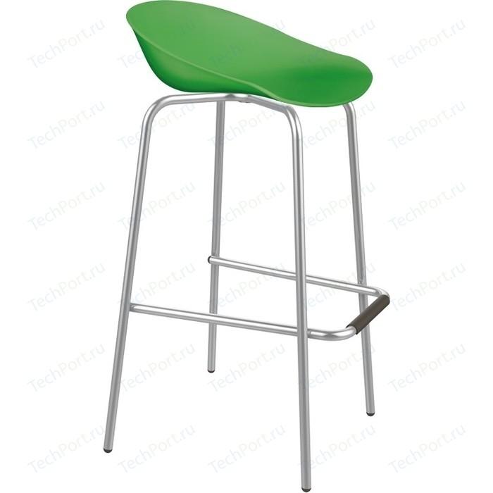 Барный стул Sheffilton SHT-ST19/S29 зеленый/хром лак