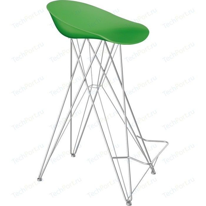 Барный стул Sheffilton SHT-ST19/S66 зеленый/хром лак барный стул sheffilton sht st19 s29 желтый хром лак