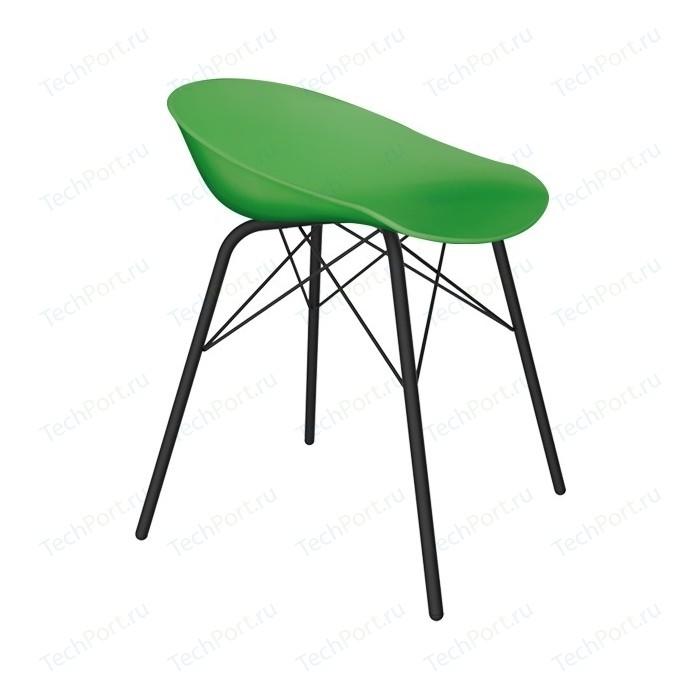 Стул Sheffilton SHT-ST19/S64 зеленый/черный муар