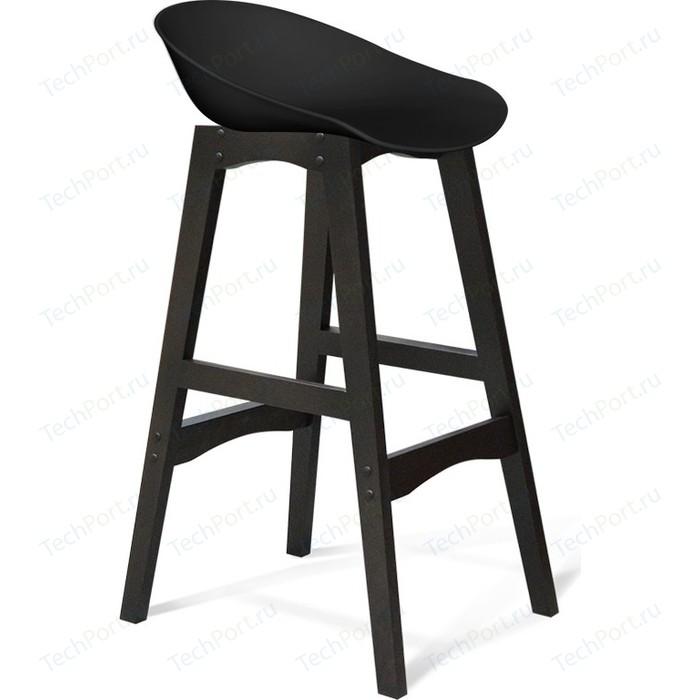 Барный стул Sheffilton SHT-ST19/S65 черный/венге