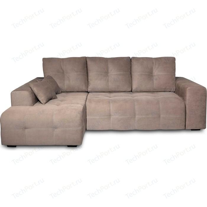 Угловой диван DИВАН Неаполь левый (Verona 724 latte) арт 80358438