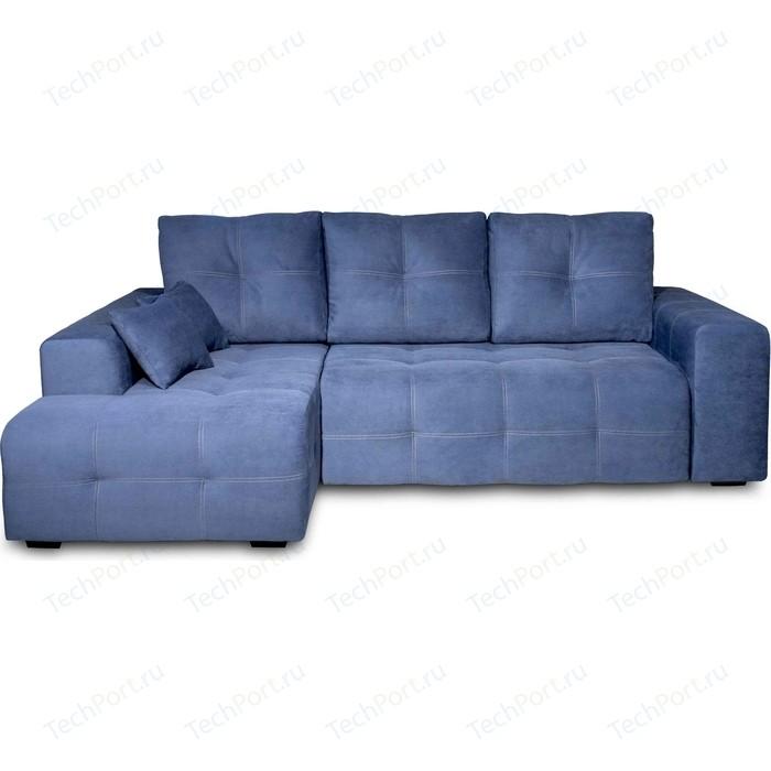 Угловой диван DИВАН Неаполь левый (Verona 27 jeans blue) арт 80365652