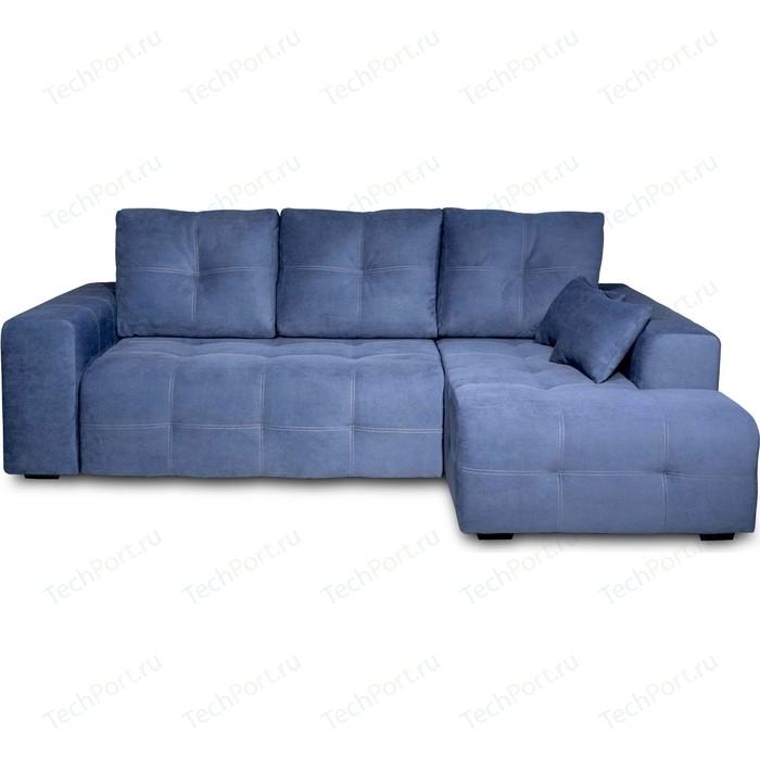Угловой диван DИВАН Неаполь правый (Verona 27 jeans blue) арт 80365657