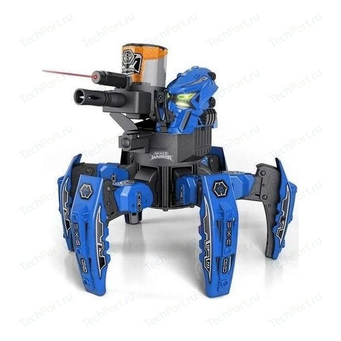 Радиоуправляемый боевой робот-паук Keye Toys Space Warrior, лазер, пульки, синий, 2.4G - KT-9008-1B
