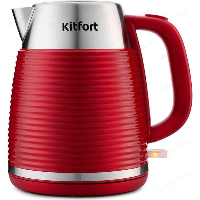Чайник электрический KITFORT KT-695-2 красный