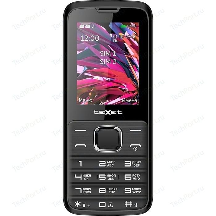 Мобильный телефон TeXet TM-D430 черный