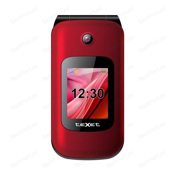 Мобильный телефон TeXet TM-B216 красный телефон texet tm 401 шампань 2 4 32 мб