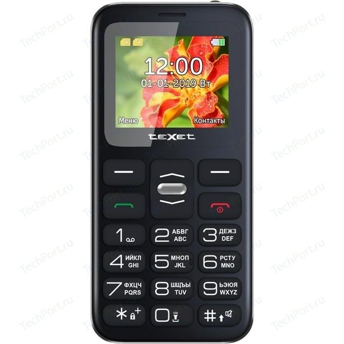 Мобильный телефон TeXet TM-B209 черный