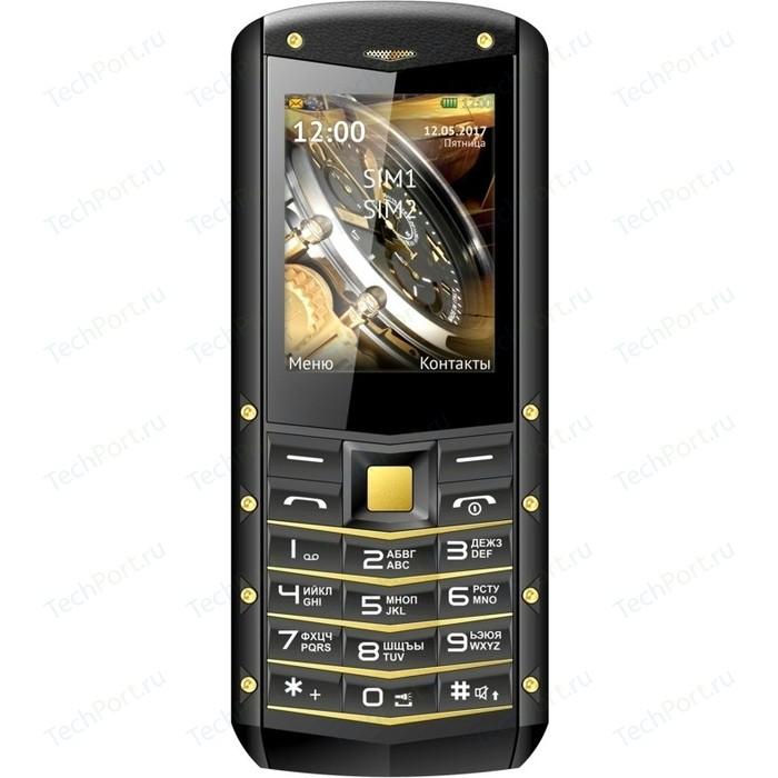 Мобильный телефон TeXet TM-520R черный-желтый мобильный телефон texet tm 101 черный