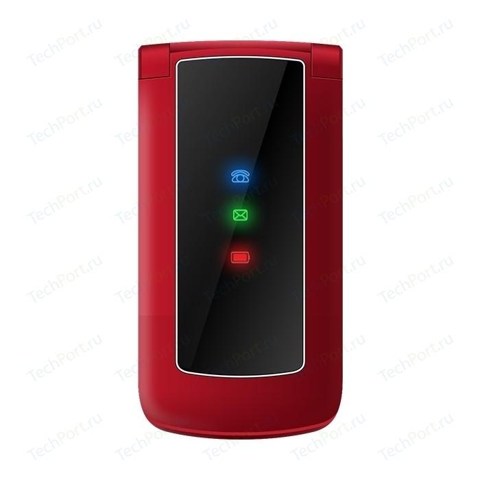 Мобильный телефон TeXet TM-317 красный мобильный телефон texet tm 101 черный