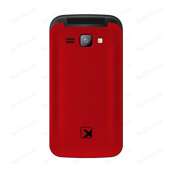 Мобильный телефон TeXet TM-204 гранатовый телефон texet tm 204 черный