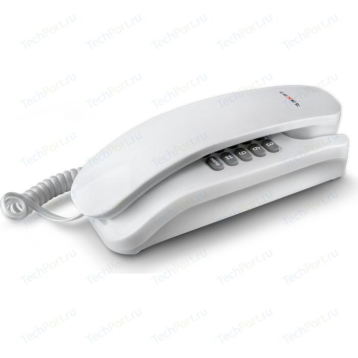 Проводной телефон TeXet TX-215 белый