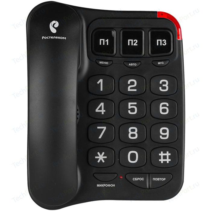 Проводной телефон TeXet TX-214 черный