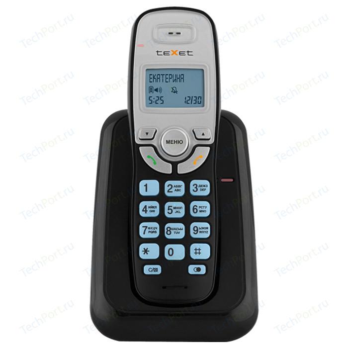 Фото - Радиотелефон TeXet TX-D6905A черный проводной телефон texet tx 201 белый
