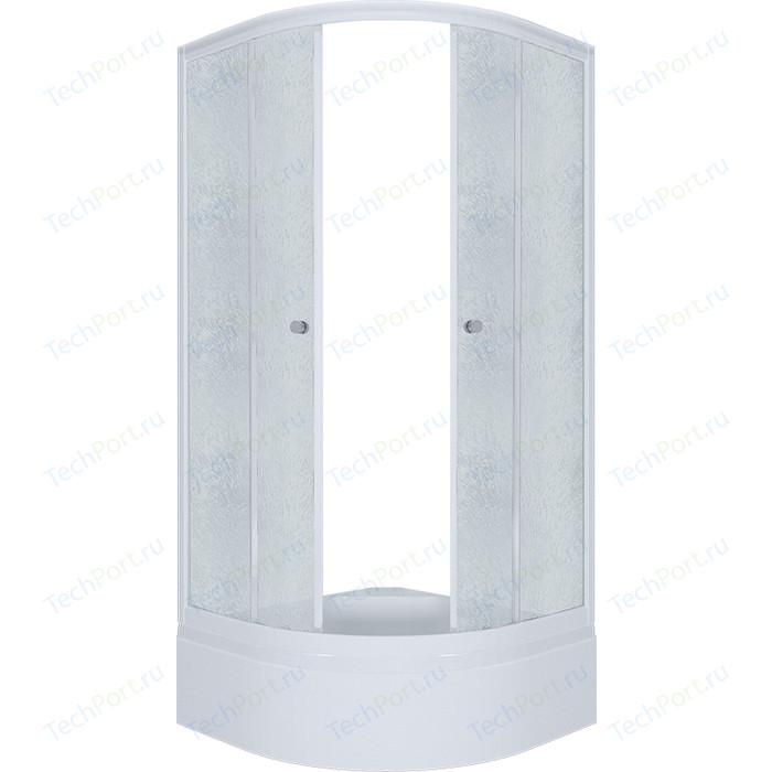 Душевой уголок Triton Риф В 90x90 профиль белый, стекла Грейс (Щ0000025416) triton орион 2 90x90 лен графит
