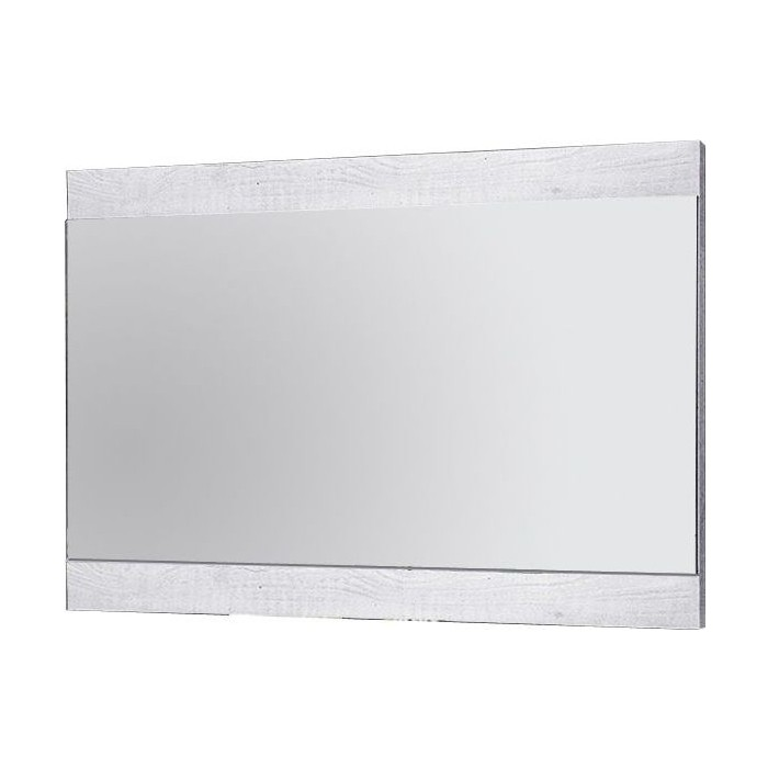 Зеркало навесное Олимп 33.13 Лючия бетон пайн белый