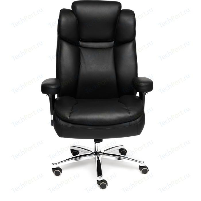 Кресло TetChair BIG-2 кожзам черный